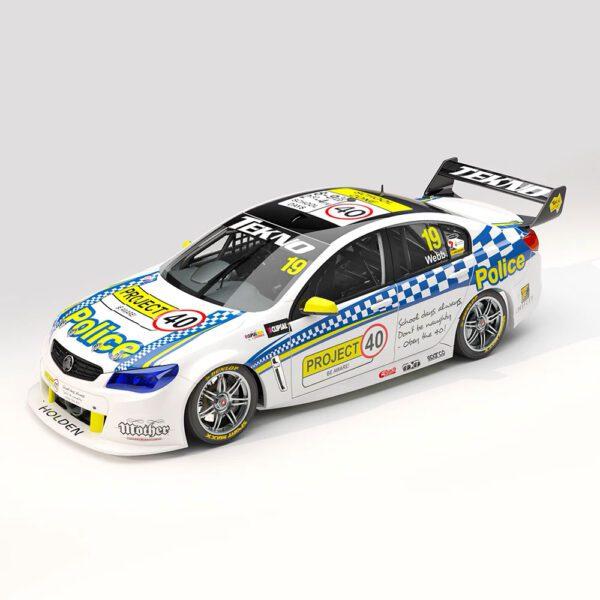 1:18 2013 Clipsal 500 - Tekno Autosports - Holden VF Commodore - #19 Webb