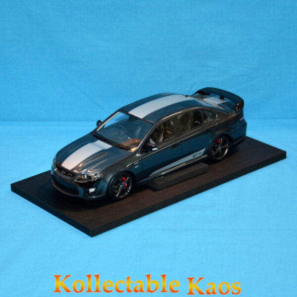 1:18 Apex - 2014 Ford FPV GT F - Smoke with Silver Stripes