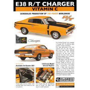 1:18 E38 R/T Charger - Vitamin C