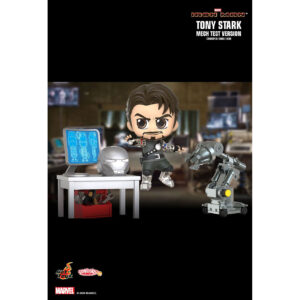 Iron Man - Tony Stark Mech Test Version Cosbaby (S) Hot Toys Figure Collectible Set