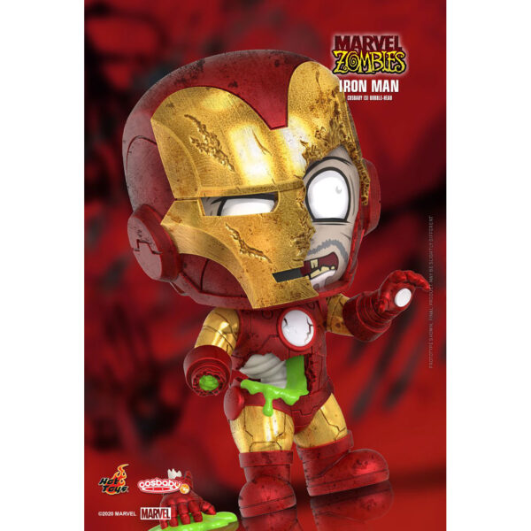 Marvel Zombies - Iron Man Cosbaby (S) Hot Toys Figure