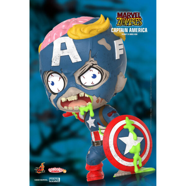 Marvel Zombies - Captain America Cosbaby (S) Hot Toys Figure
