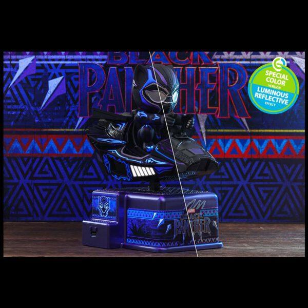 Black Panther - Black Panther Luminous Reflective Effect CosRider Hot Toys Figure
