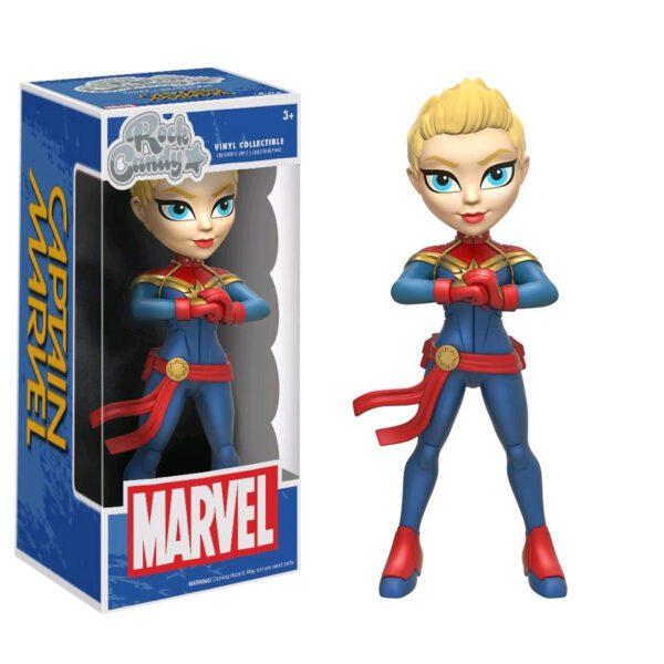 """Captain Marvel - Captain Marvel Rock Candy 12.5cm(5"""") Vinyl Figure"""