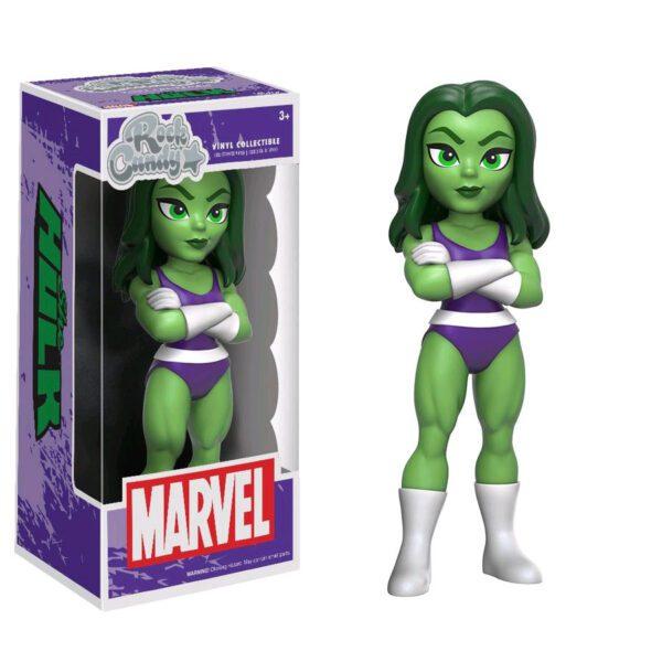 """Hulk - She-Hulk Rock Candy 12.5cm(5"""") Vinyl Figure"""