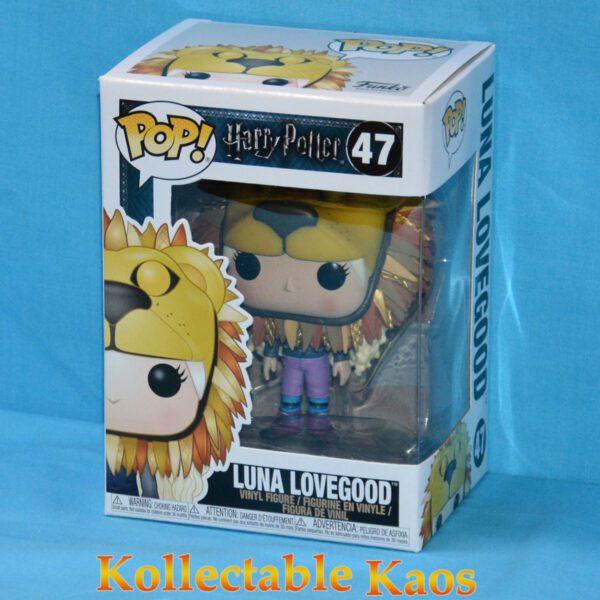 Harry Potter - Luna Lovegood with Lion Head Pop! Vinyl Figure