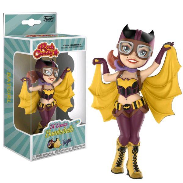 """DC Bombshells - Batgirl Rock Candy 12.5cm(5"""") Vinyl Figure"""