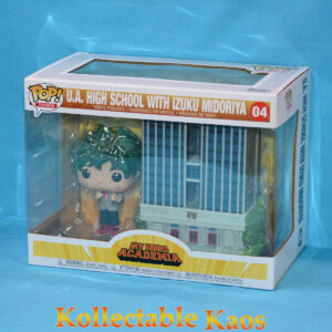 My Hero Academia - Deku with U.A. High School Pop! Town! Vinyl Figure
