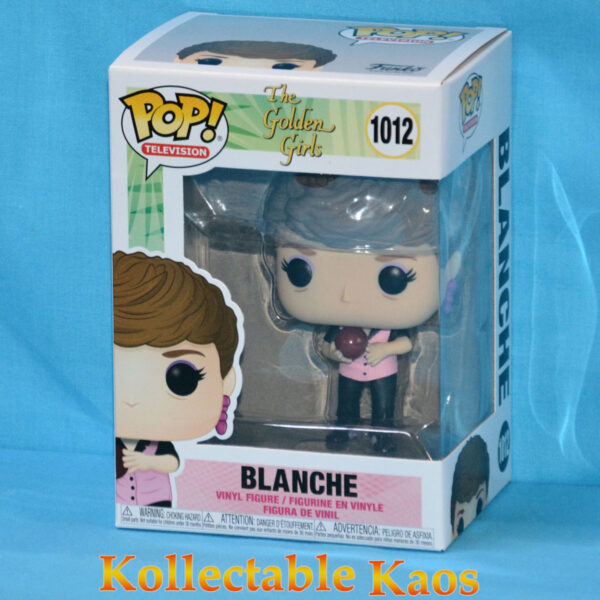 The Golden Girls - Blanche in Bowling Uniform Pop! Vinyl Figure