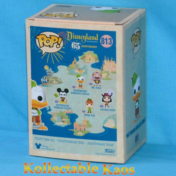 Disneyland: 65th Anniversary - Matterhorn Bobsleds Donald Duck Pop! Vinyl Figure