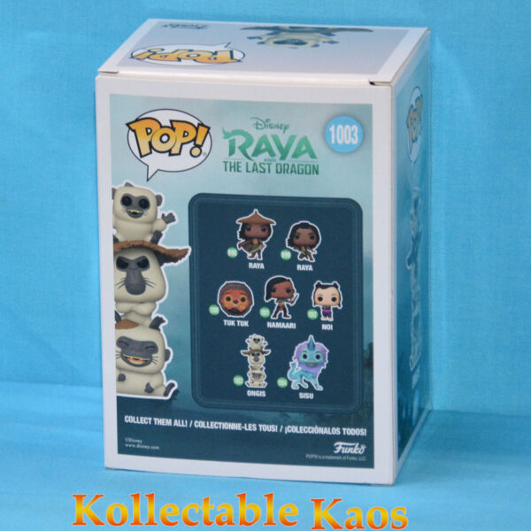 Raya and The Last Dragon - Flocked Ongis Pop! Vinyl Figure