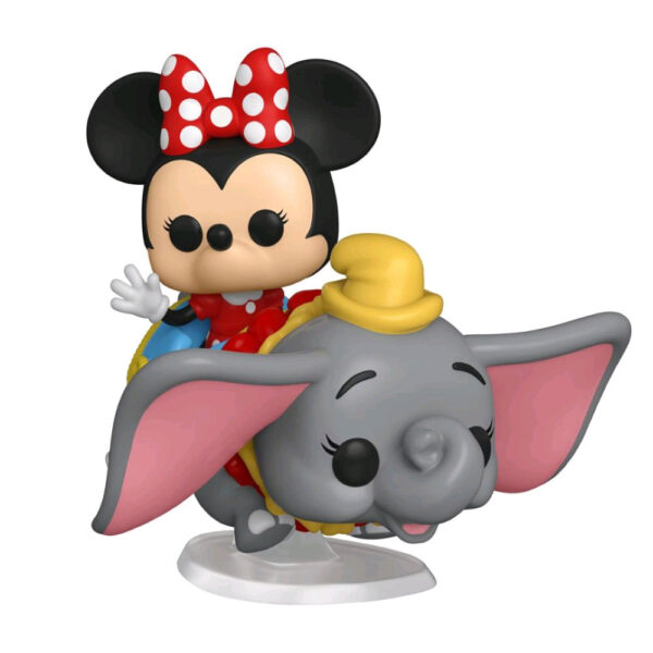 Disneyland: 65th Anniversary - Minnie Mouse with Flying Dumbo Pop! Rides Vinyl Figure