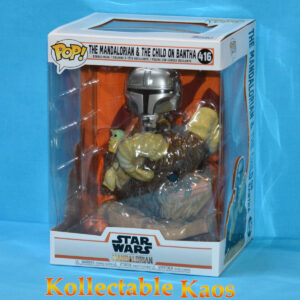 Star Wars: The Mandalorian - The Mandalorian & The Child on Bantha Deluxe Pop! Vinyl Figure