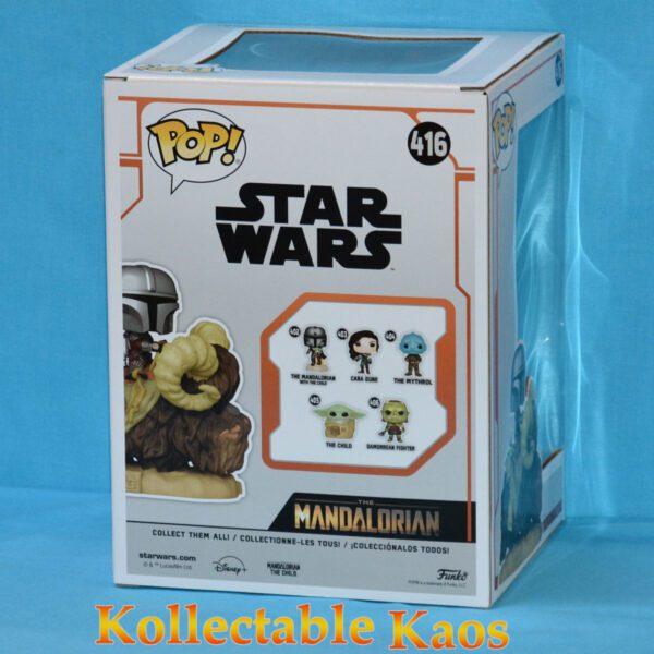 Star Wars: The Mandalorian - The Mandalorian & The Child on Bantha Deluxe Pop! Vinyl Figure