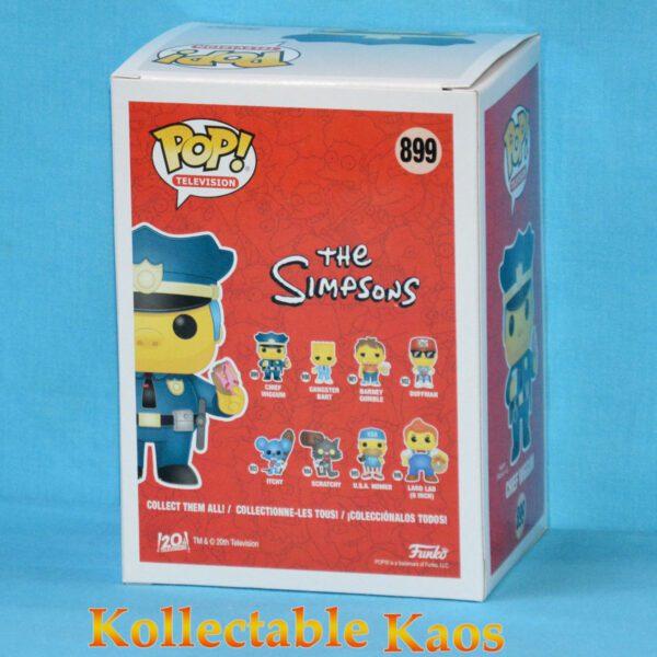 The Simpsons - Chief Wiggum Pop! Vinyl Figure