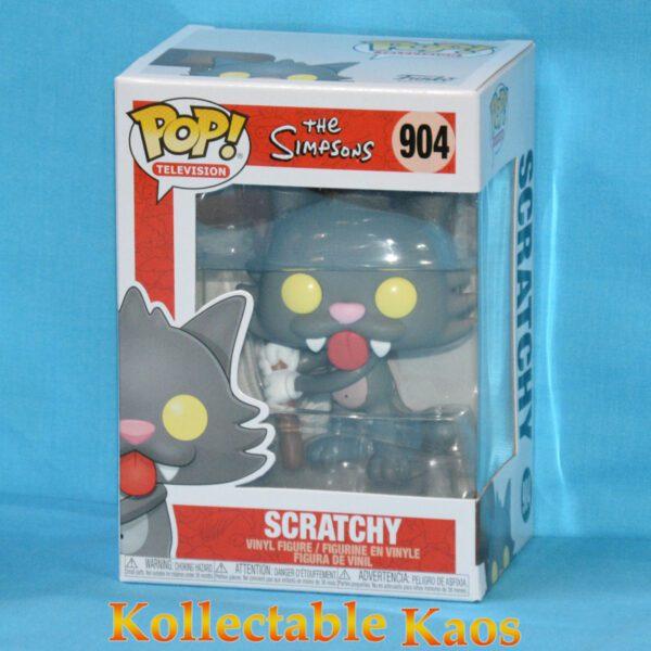 The Simpsons - Scratchy Pop! Vinyl Figure