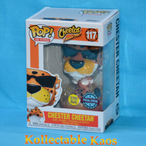 Ad Icons - Cheetos Flaming Hot Chester Glow in the Dark Pop! Vinyl Figure