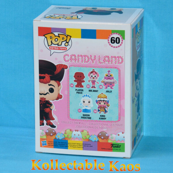 Candy Land - Lord Licorice Pop! Vinyl Figure