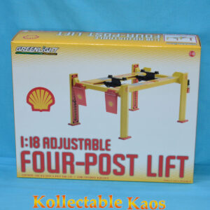 1:18 Greenlight - Shell Oil Four Post Lift