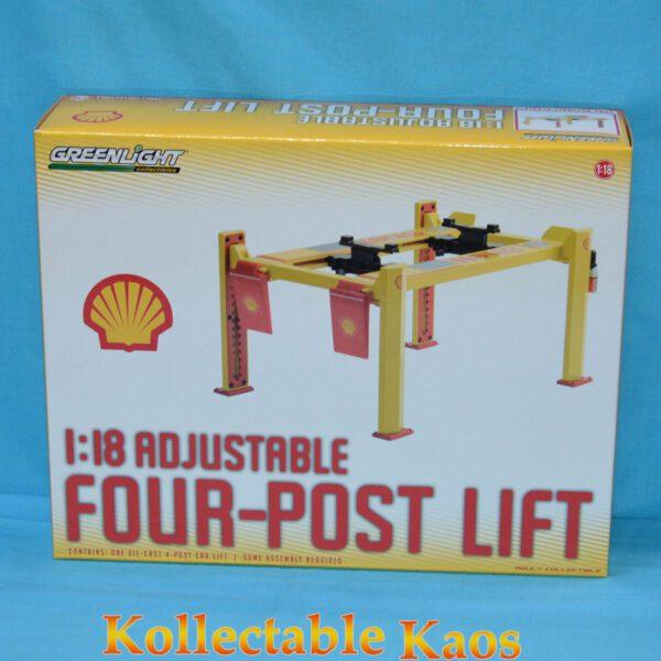 1:18 Greenlight - Shell Oil Four Post Lift