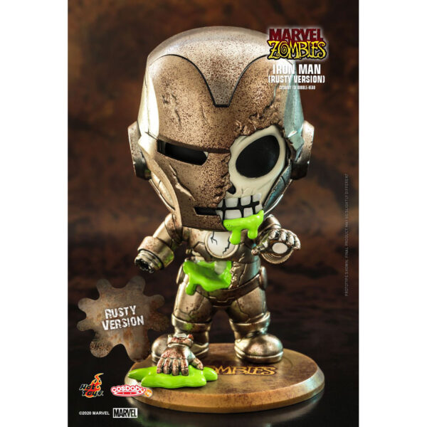 Marvel Zombies - Iron Man Rusty Cosbaby (S) Hot Toys Figure