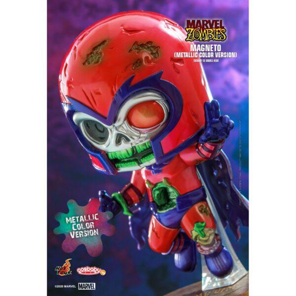 Marvel Zombies - Magneto Metallic Cosbaby (S) Hot Toys Figure