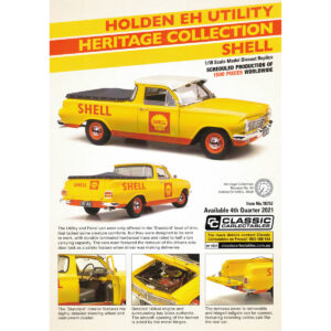 1:18 Holden EH Utility - Heritage Collection - Shell