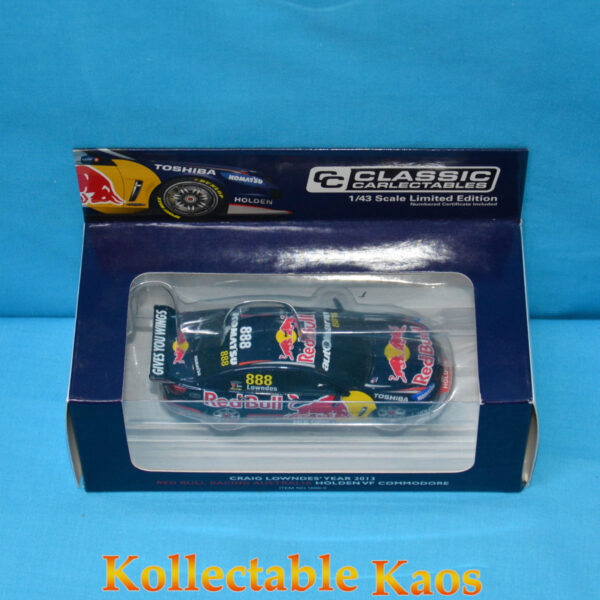 1:43 Classics - 2013 Red Bull Racing - Holden VF Commodore - Craig Lowndes