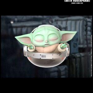 Star Wars: The Mandalorian - The Child Hoverpram Cosbaby (S) Bobble-Head