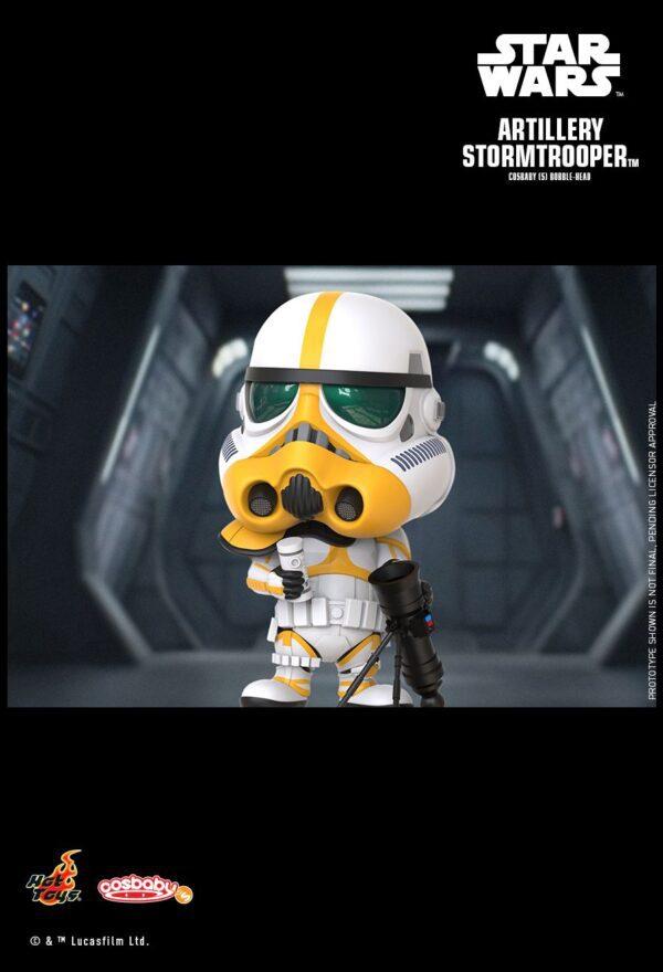 Star Wars: The Mandalorian - Artillery Stormtrooper Cosbaby (S) Bobble-Head