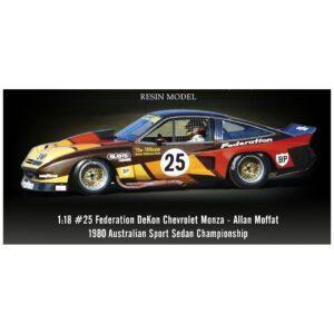 1:18 1980 Australia Sport Sedan Championship - Chevrolet Monza - #25 Federation DeKon - Allan Moffat