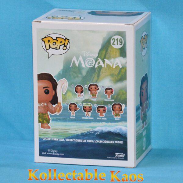 Moana - Maui with Weapon Pop! Vinyl Figure