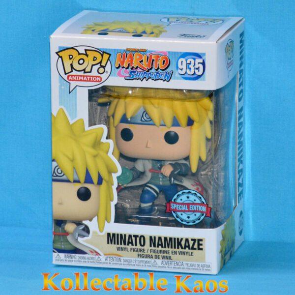 Naruto: Shippuden - Minato Namikaze with Rasengan Pop! Vinyl Figure