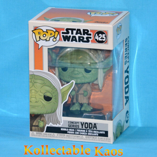 Star Wars: Concept Series - Yoda Concept Pop! Vinyl Figure