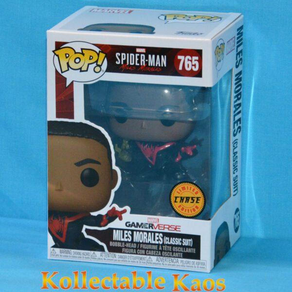 Spider-Man: Miles Morales - Unmasked Miles Morales Pop! Vinyl Figure Chase