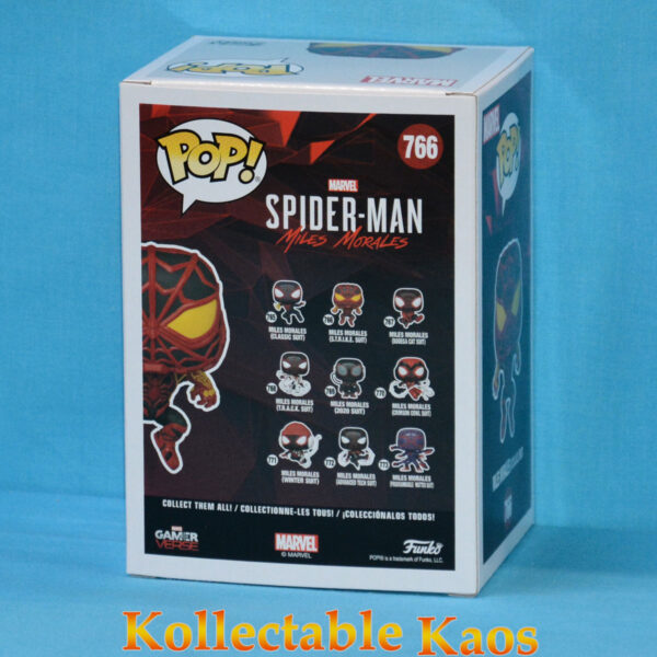 Spider-Man: Miles Morales - Miles Morales in STRIKE Suit Pop! Vinyl Figure