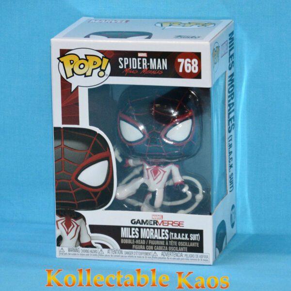 Spider-Man: Miles Morales - Miles Morales in Track Suit Pop! Vinyl Figure