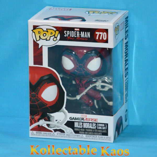 Spider-Man: Miles Morales - Miles Morales Crimson Cowl Suit Pop! Vinyl Figure