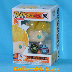 Dragon Ball Z - Goku Super Saiyan 2 Glow in the Dark Pop! Vinyl Figure Chase