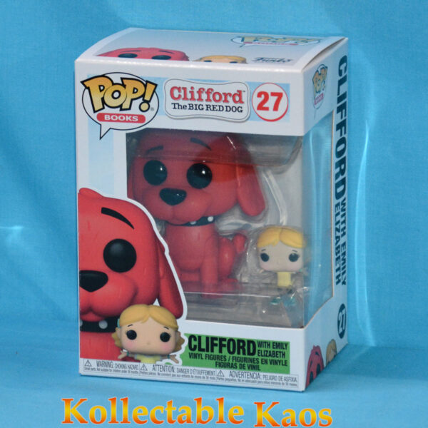 Clifford the Big Red Dog - Clifford with Emily Pop! Vinyl Figure
