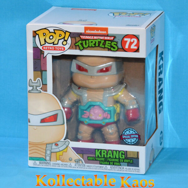 "Teenage Mutant Ninja Turtles - Krang with Android Body 15cm(6"") Pop! Vinyl Figure"
