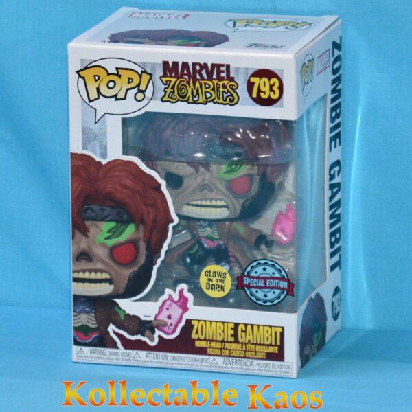 Marvel Zombies - Zombie Gambit Glow in the Dark Pop! Vinyl Figure