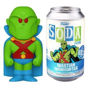 DC Comics - Martian Manhunter Vinyl SODA Figure in Collector Can
