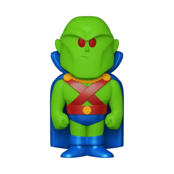 DC Comics - Martian Manhunter Vinyl SODA Figure in Collector Can