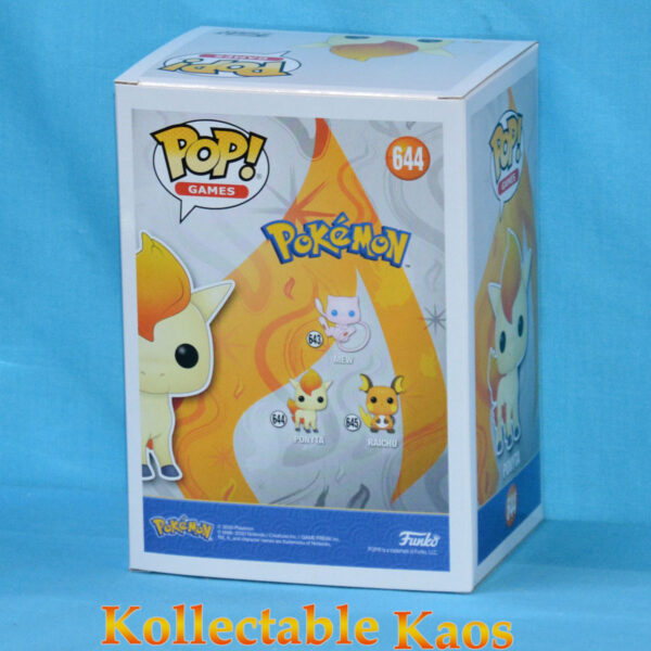 Pokemon - Ponyta Pop! Vinyl Figure (RS) #644