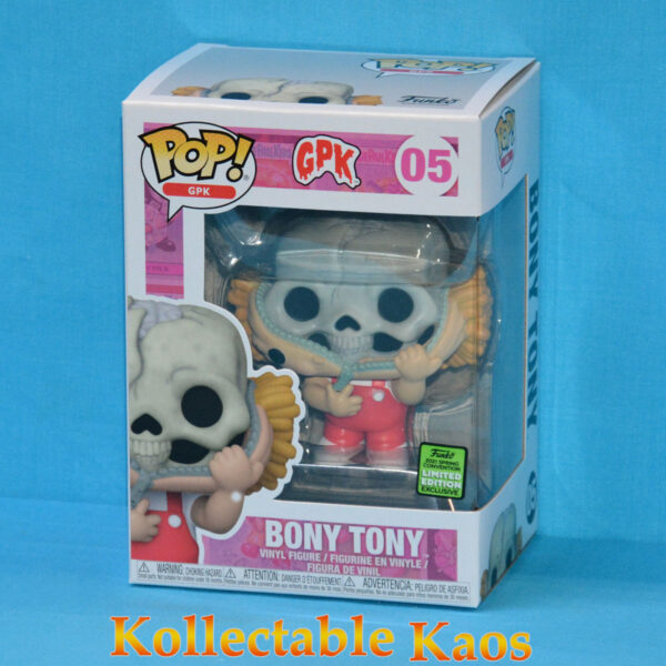 ECCC 2021 - Garbage Pail Kids - Bony Tony Pop! Vinyl Figure