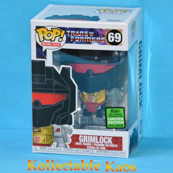 ECCC 2021 - Transformers - Grimlock Pop! Vinyl Figure