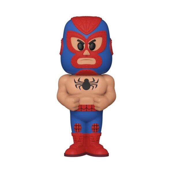 Spider-Man - Spider-Man Luchadore Vinyl SODA Figure in Collector Can