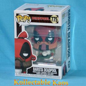 Deadpool - Barista Deadpool 30th Anniversary Pop! Vinyl Figure