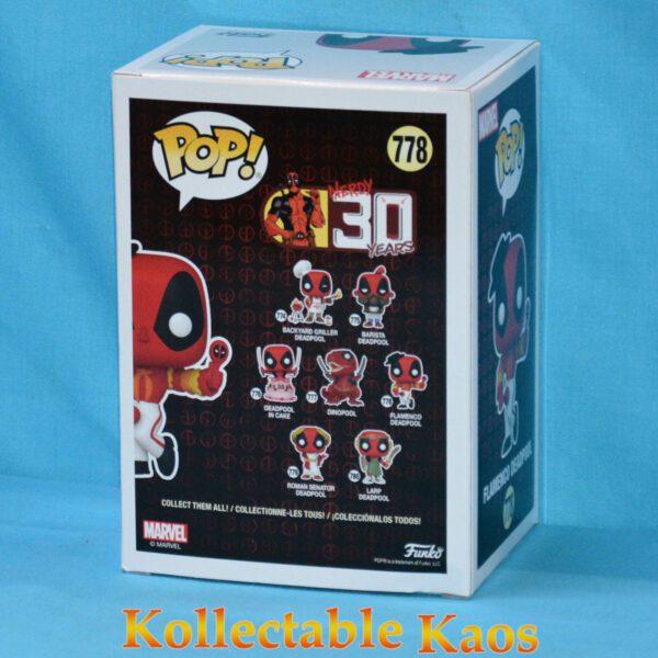 Deadpool - Flamenco Deadpool 30th Anniversary Pop! Vinyl Figure